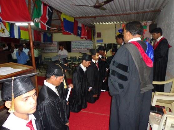 Praying For Graduating Students