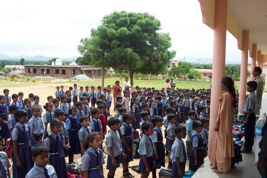 Morning School Assembly